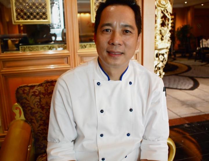 Comment énerver Jackie Chan et s'en sortir vivantes (Shang Palace, Shangri-La Bangkok)
