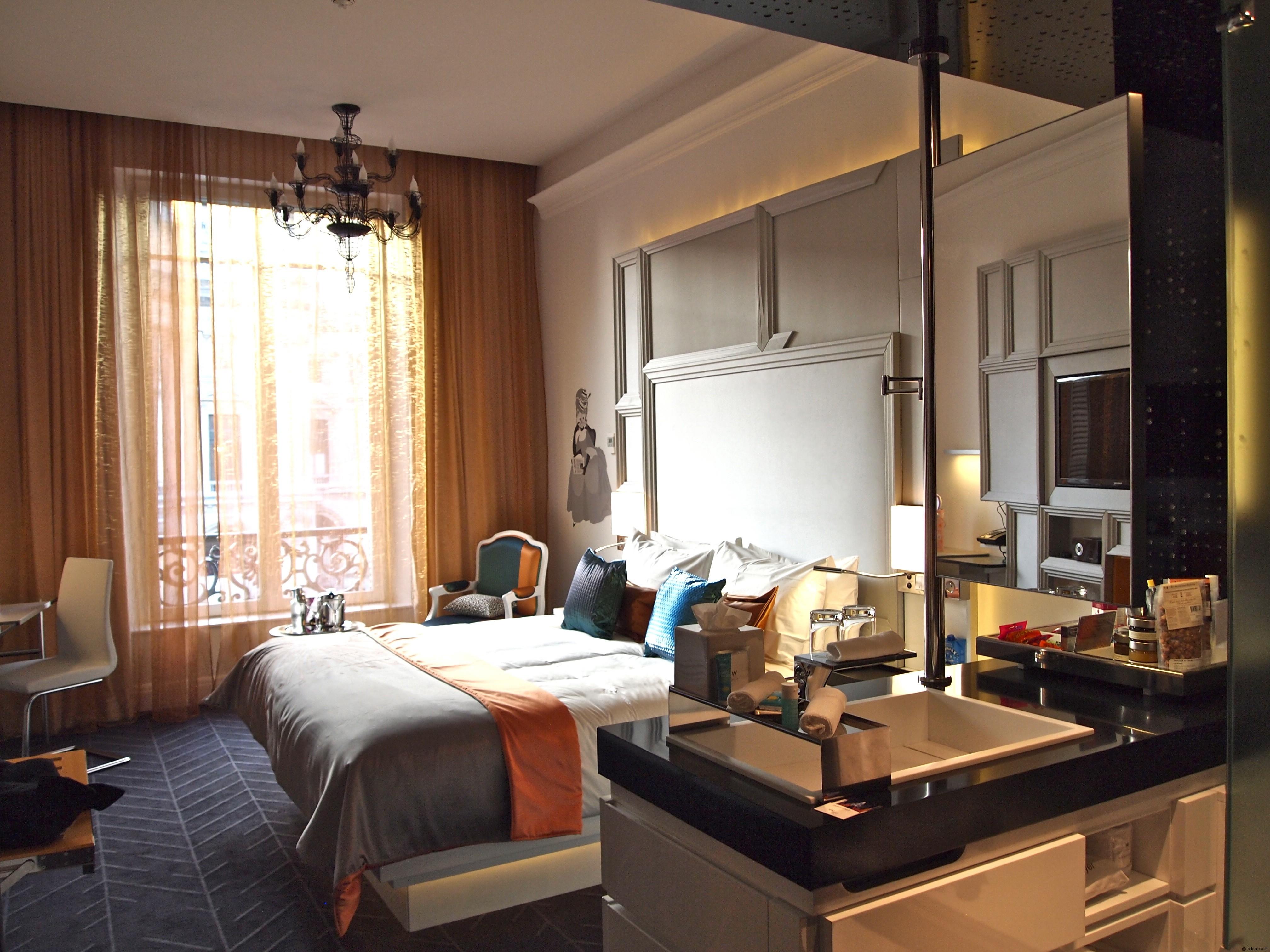 D couvrez et r servez l 39 h tel w paris op ra for Hotel design 75003