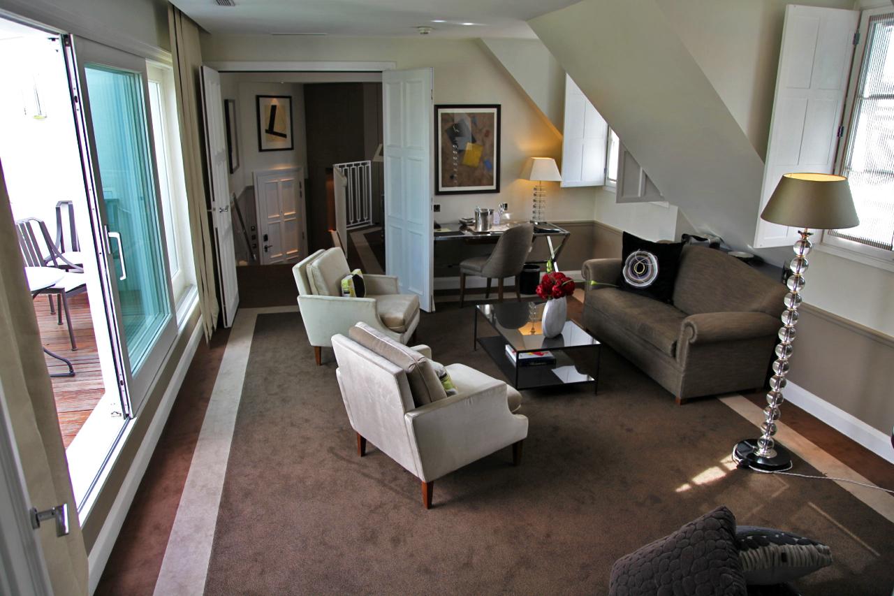 jf partageraient appartement - hôtel le burgundy**** paris- silencio