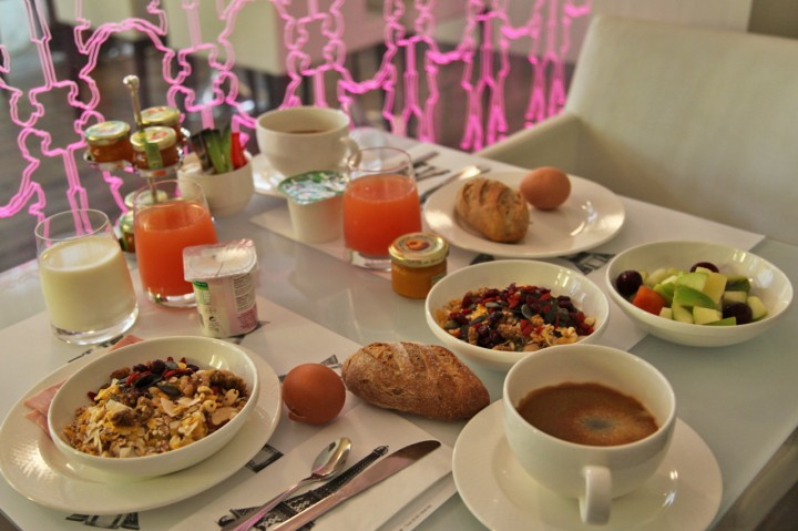 Hotel-Gabriel-Marais-Paris-Silencio-breakfast