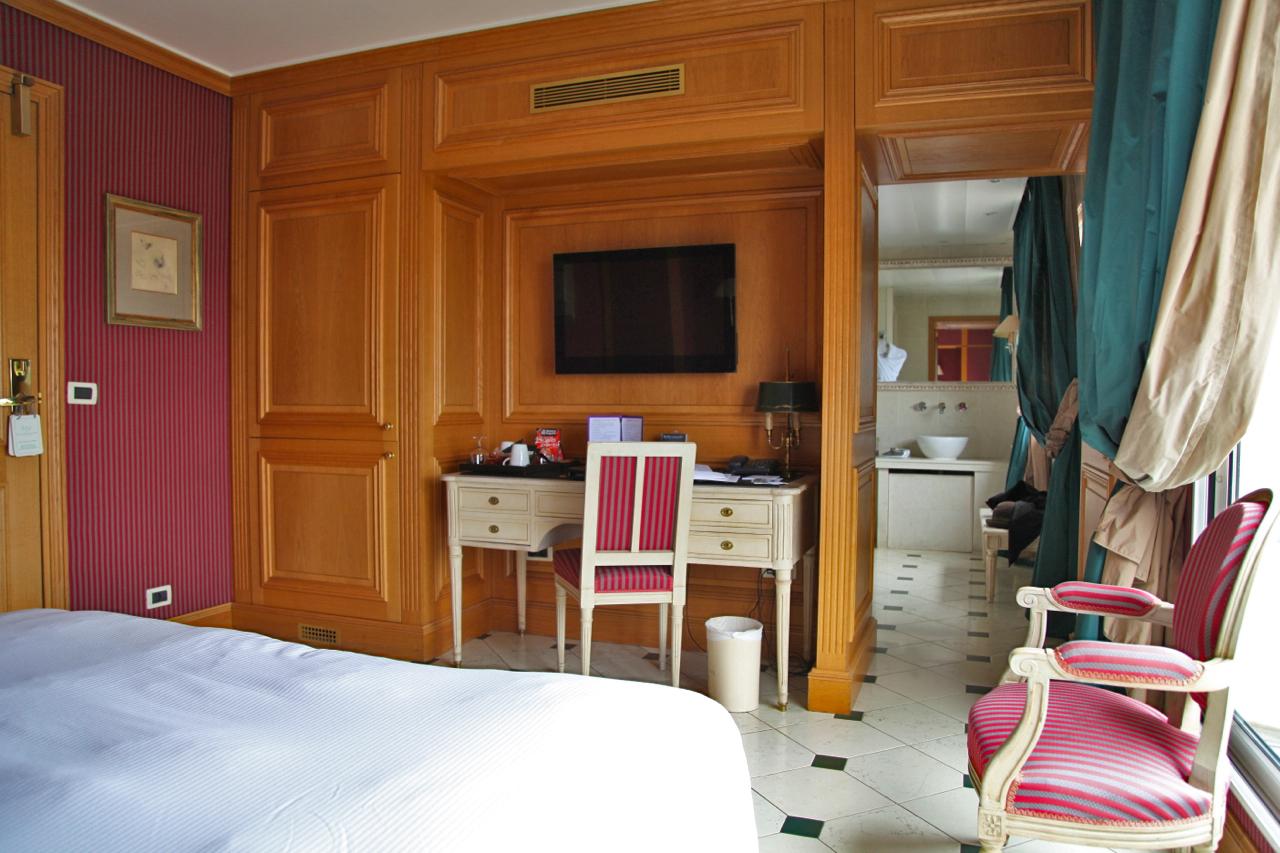 Terrass hotel paris silencio chambre deluxe vue eiffel bureau silencio