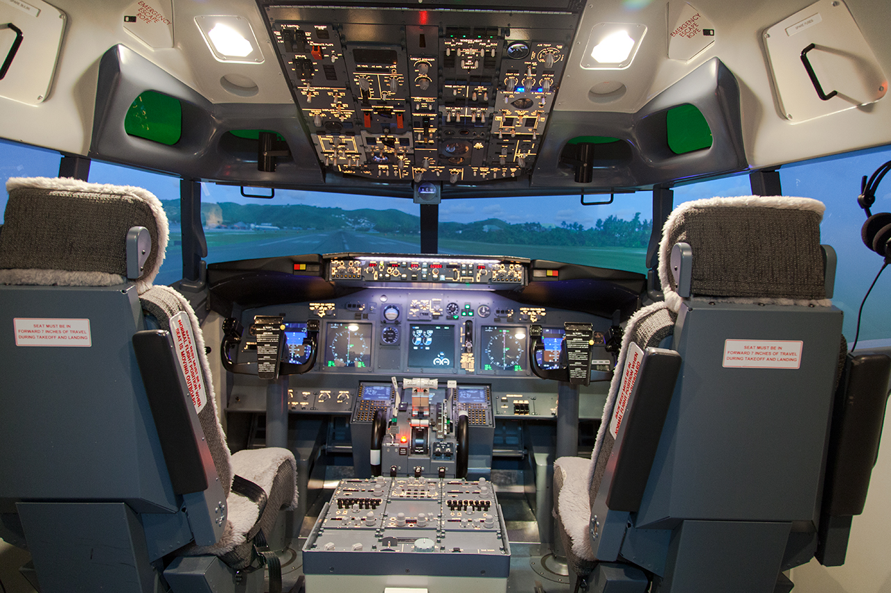 D couvrez le stage peur avion de flight experience paris for Interieur avion