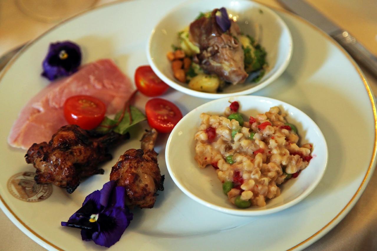 Brunch hotel lutetia paris silencio assiette salee silencio - Brasserie lutetia menu ...