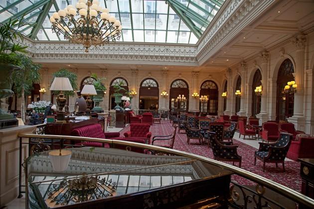 le bar de l 39 intercontinental paris le grand revisite les cocktails au f minin silencio. Black Bedroom Furniture Sets. Home Design Ideas