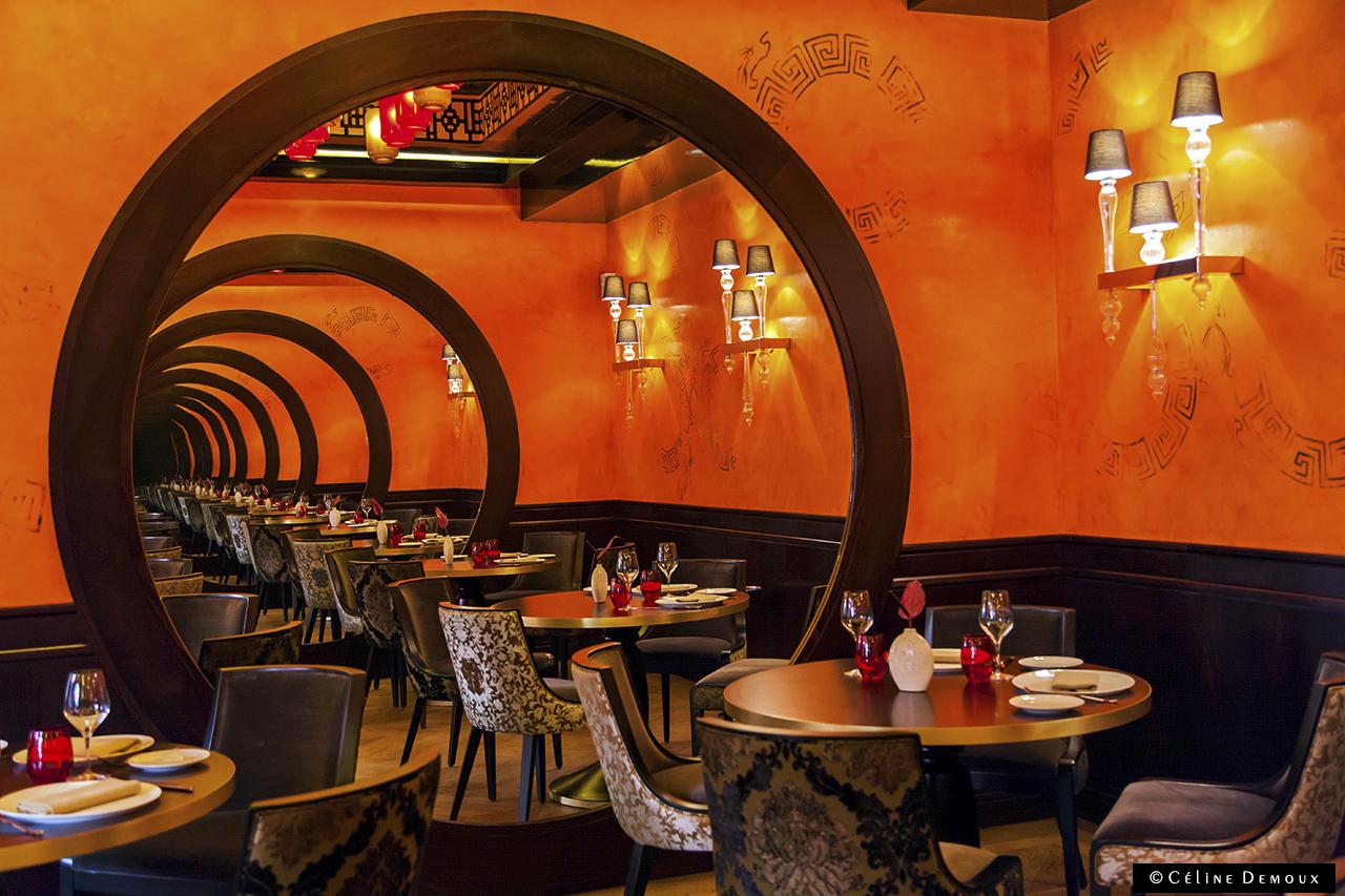 En terrasse au vraymonde restaurant du buddha bar h tel for Restaurant cuisine du monde paris