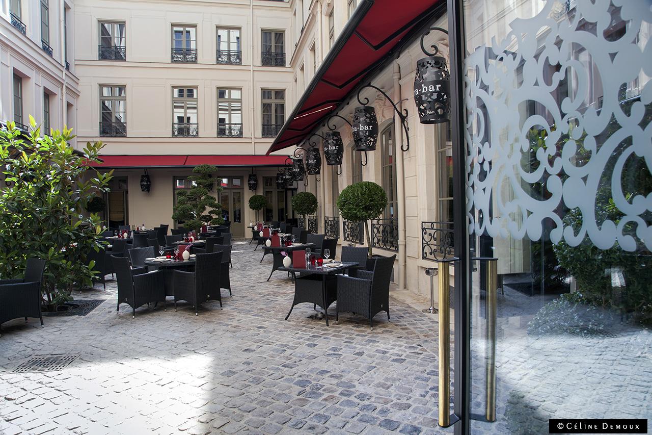 En Terrasse Au Vraymonde Restaurant Du Buddha Bar H 244 Tel
