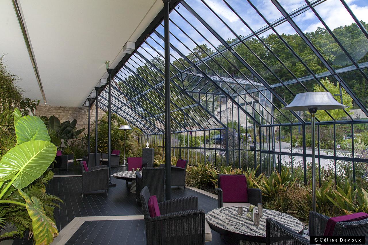 Le ch teau de mery m ry sur oise un h tel qui vous veut for Restaurants paris avec terrasse ou jardin