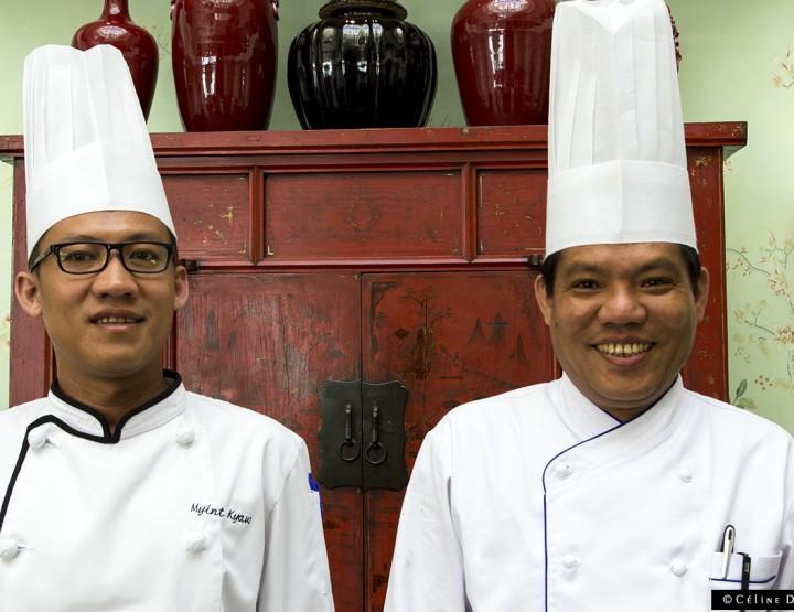 Un déjeuner gastronomique birman au Shangri-La Paris: les images