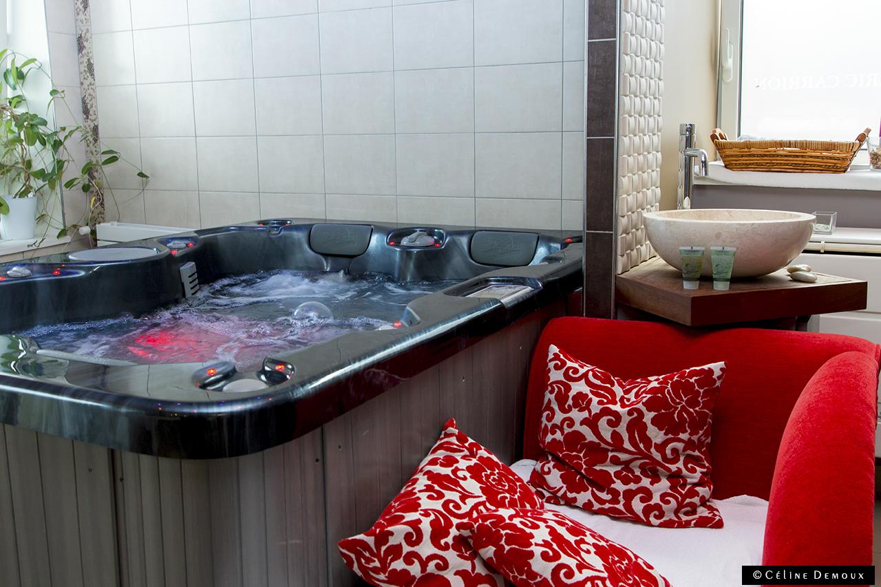 Une escapade chez fr d ric carrion cuisine h tel spa - Hotel amsterdam avec jacuzzi dans la chambre ...