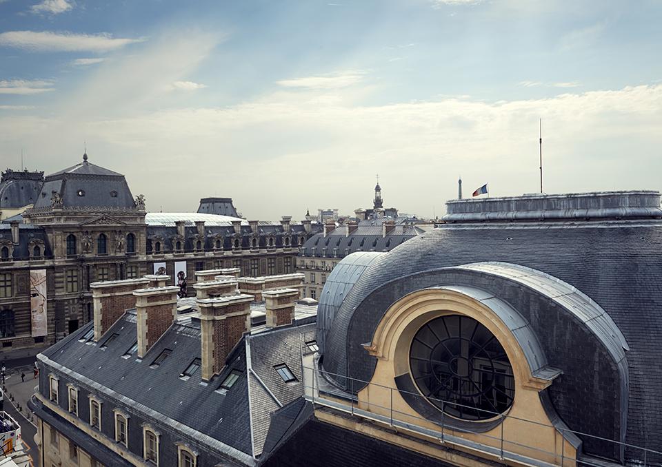 la suite panoramique du grand h tel du palais royal paris silencio. Black Bedroom Furniture Sets. Home Design Ideas