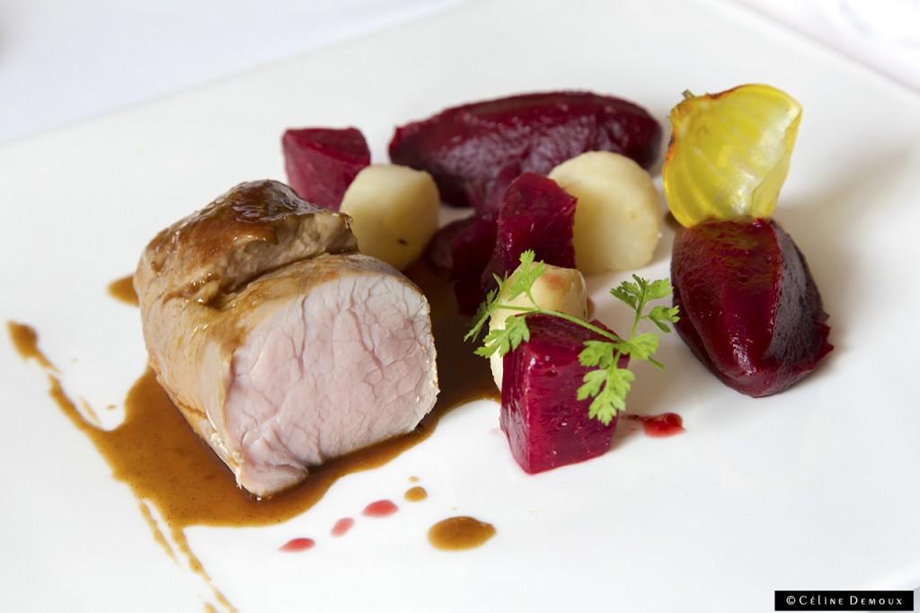 Le-Prieure-Relais-Chateau-Villeneuve-les-Avignon-Silencio-Restaurant-cochon-betterave