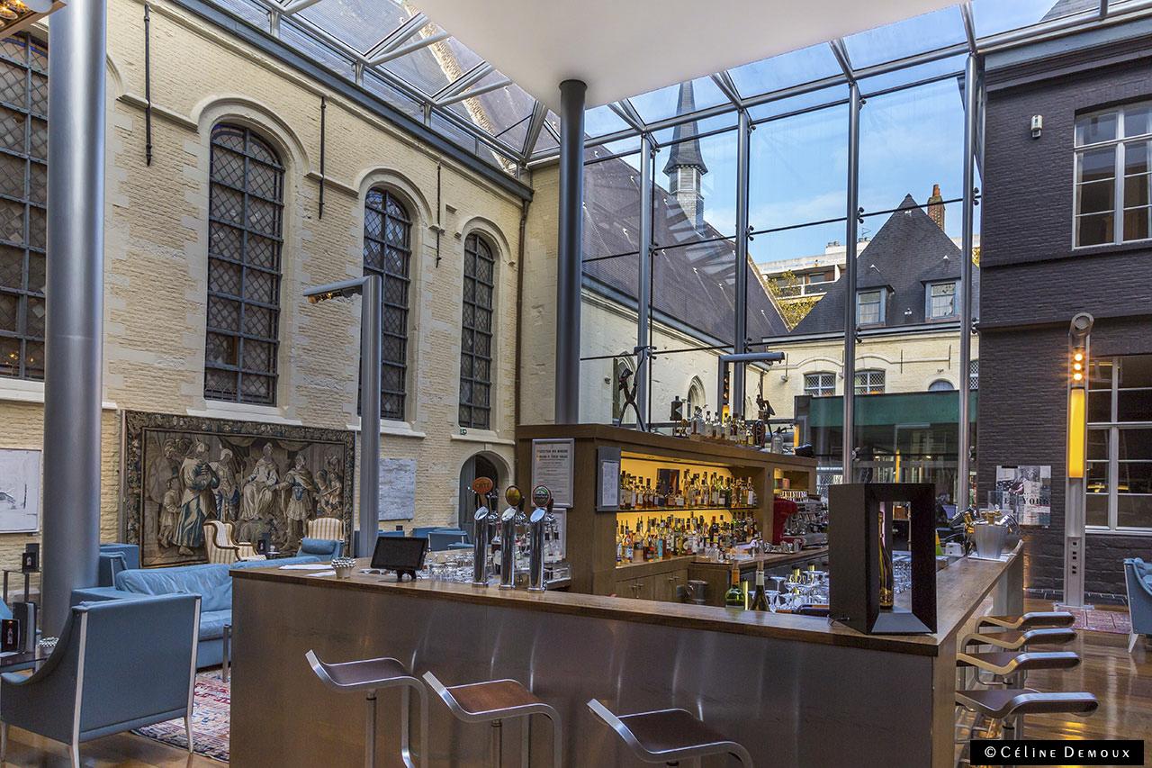 Le bar de l 39 hermitage gantois h tel 5 toiles lille for Hotels lille