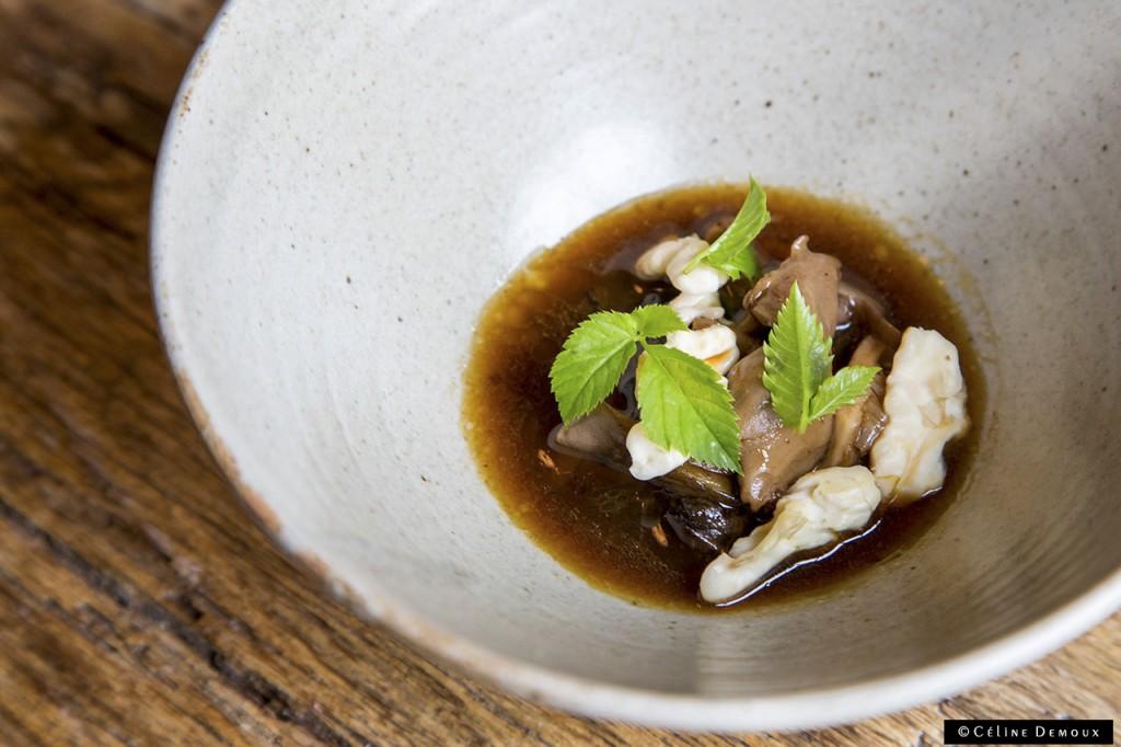 Restaurant-In-De-Wulf-Kobe-Desramault-Silencio-champignons-noix