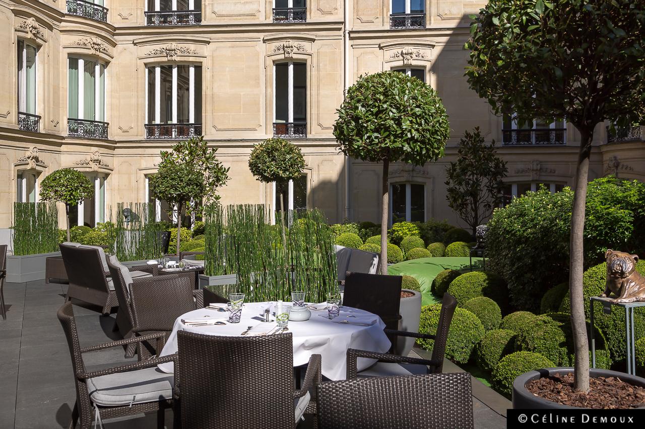 Le brunch 360 de l 39 h tel barri re le fouquet 39 s paris silencio - Restaurant en terrasse paris ...