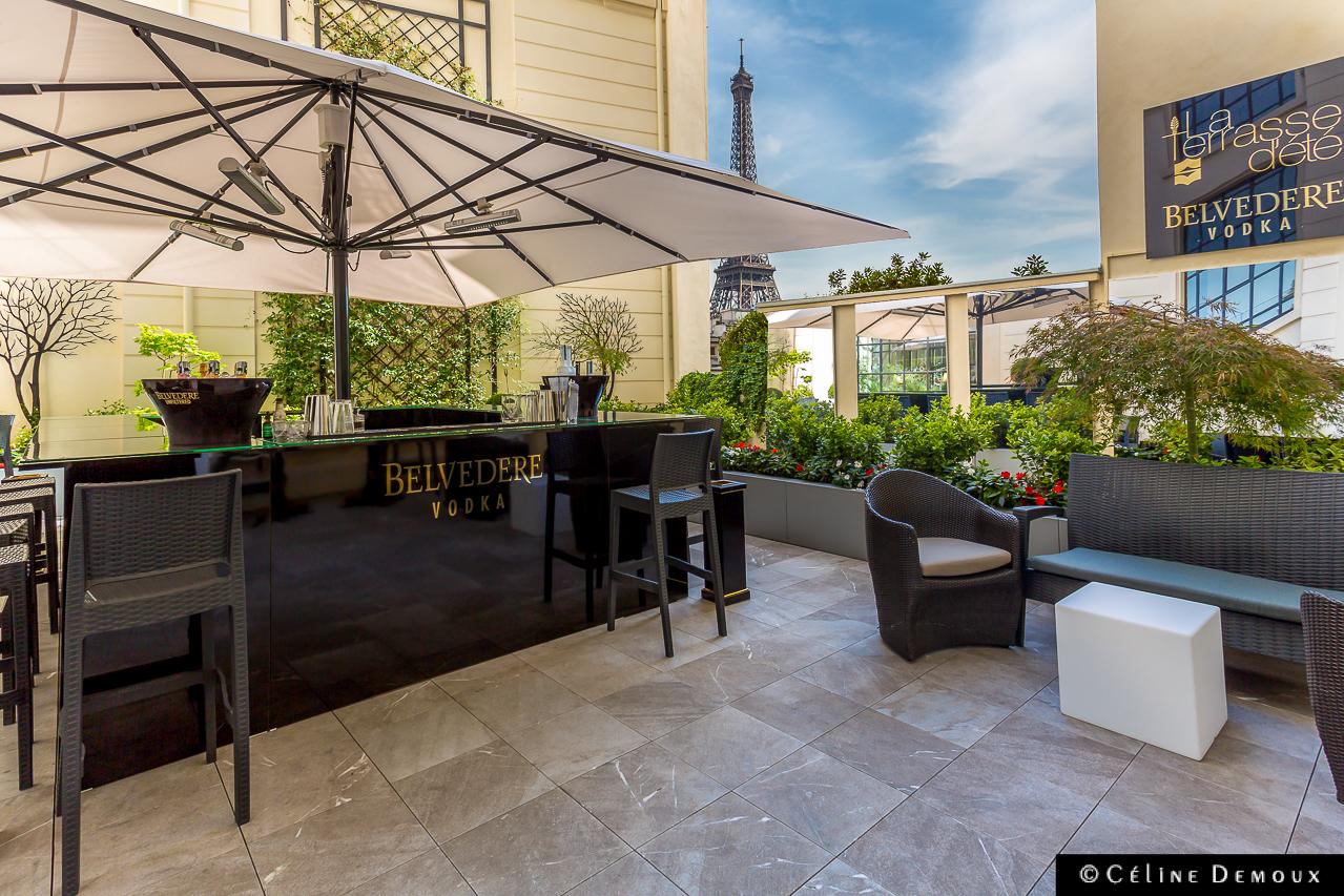 la terrasse d 39 t du shangri la paris by belvedere silencio. Black Bedroom Furniture Sets. Home Design Ideas