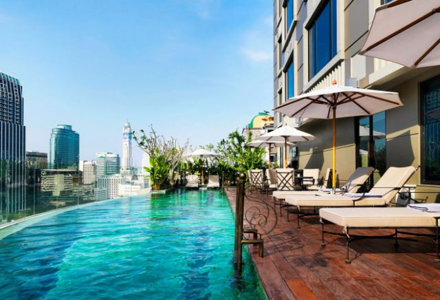 Bangkok 12 h tels avec piscine sur le toit ou avec vue for Piscine 75009