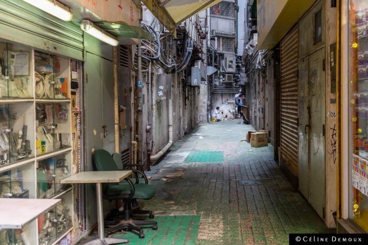 Hong-Kong-Silencio-3 days-Ruelle