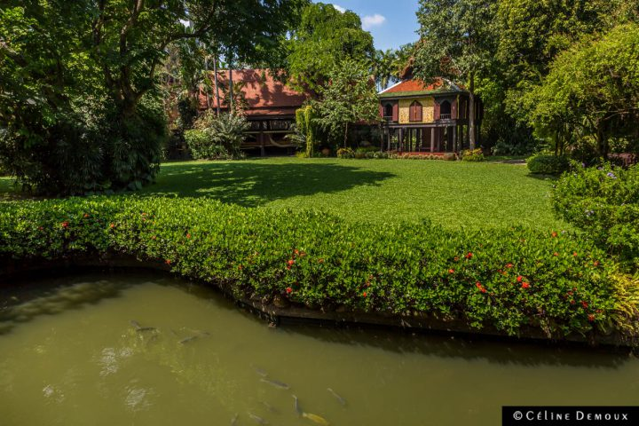 Suan-Pakkad-Musee-du-Palais-Bangkok-Silencio-etang-maisons