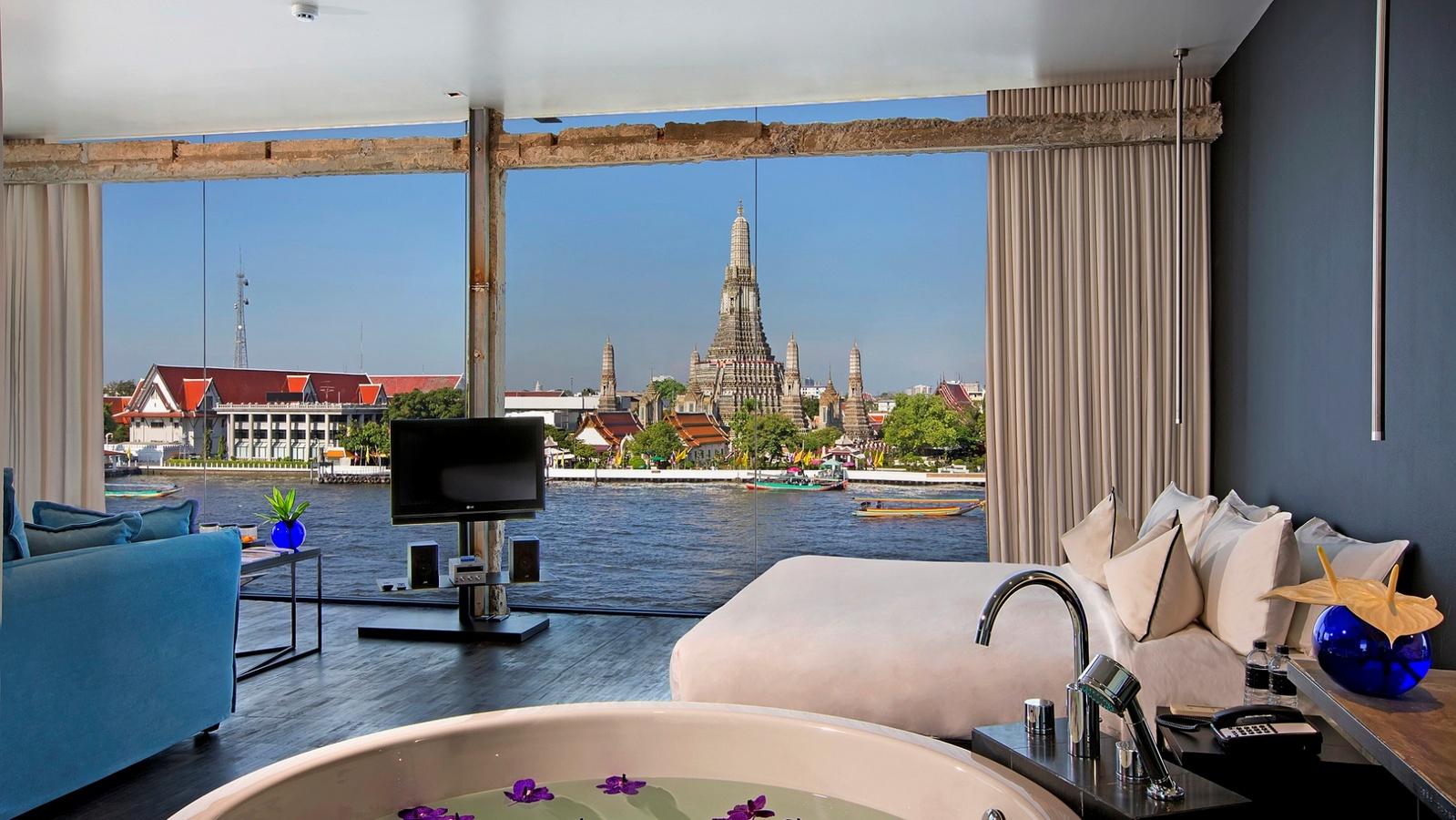 9 h tels de luxe riverside bangkok pour contempler la chao praya river silencio. Black Bedroom Furniture Sets. Home Design Ideas