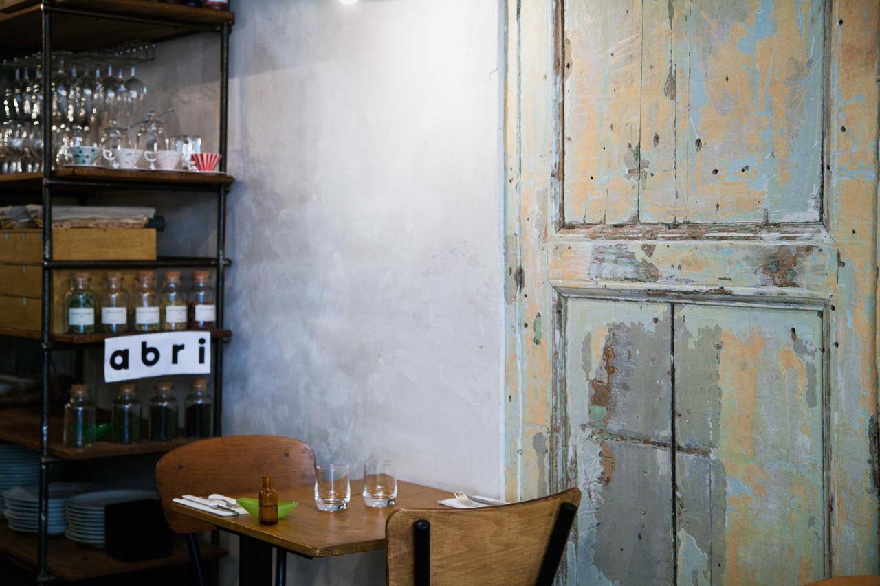Restaurant abri paris silencio salle silencio for Restaurant abri paris