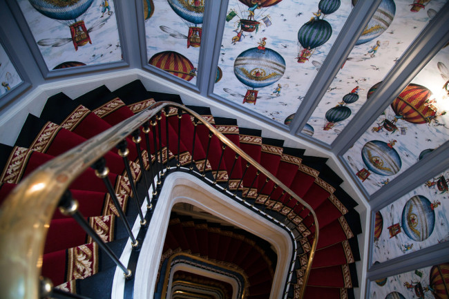 Hotel-Saint-James-Paris-Silencio-escalier