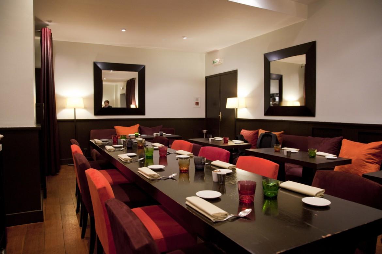 D jeuner chez h l ne darroze le salon silencio for Restaurant salle a manger tunis